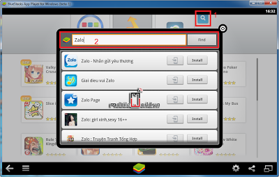 download zalo chat và game