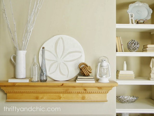 coastal mantel decor