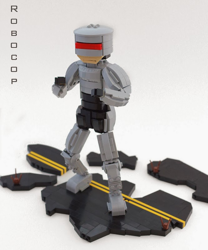 Custom Robocop (2014) - Minifig Customisation Workshop ...