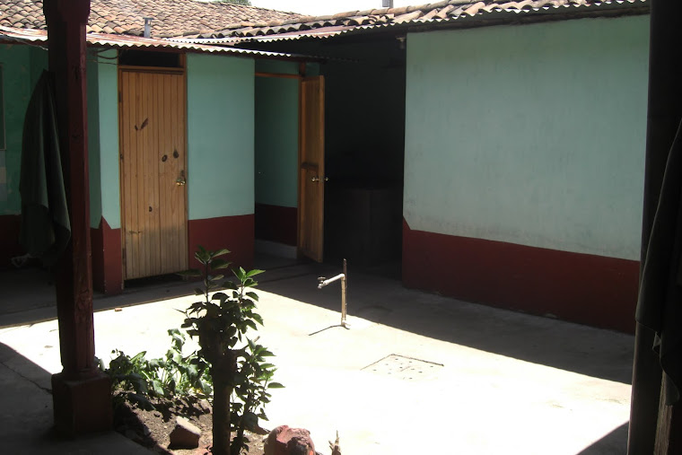Courtyard of my House in Chiché