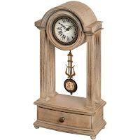 luxusne hodiny na stôl v staro anglickom dizajne