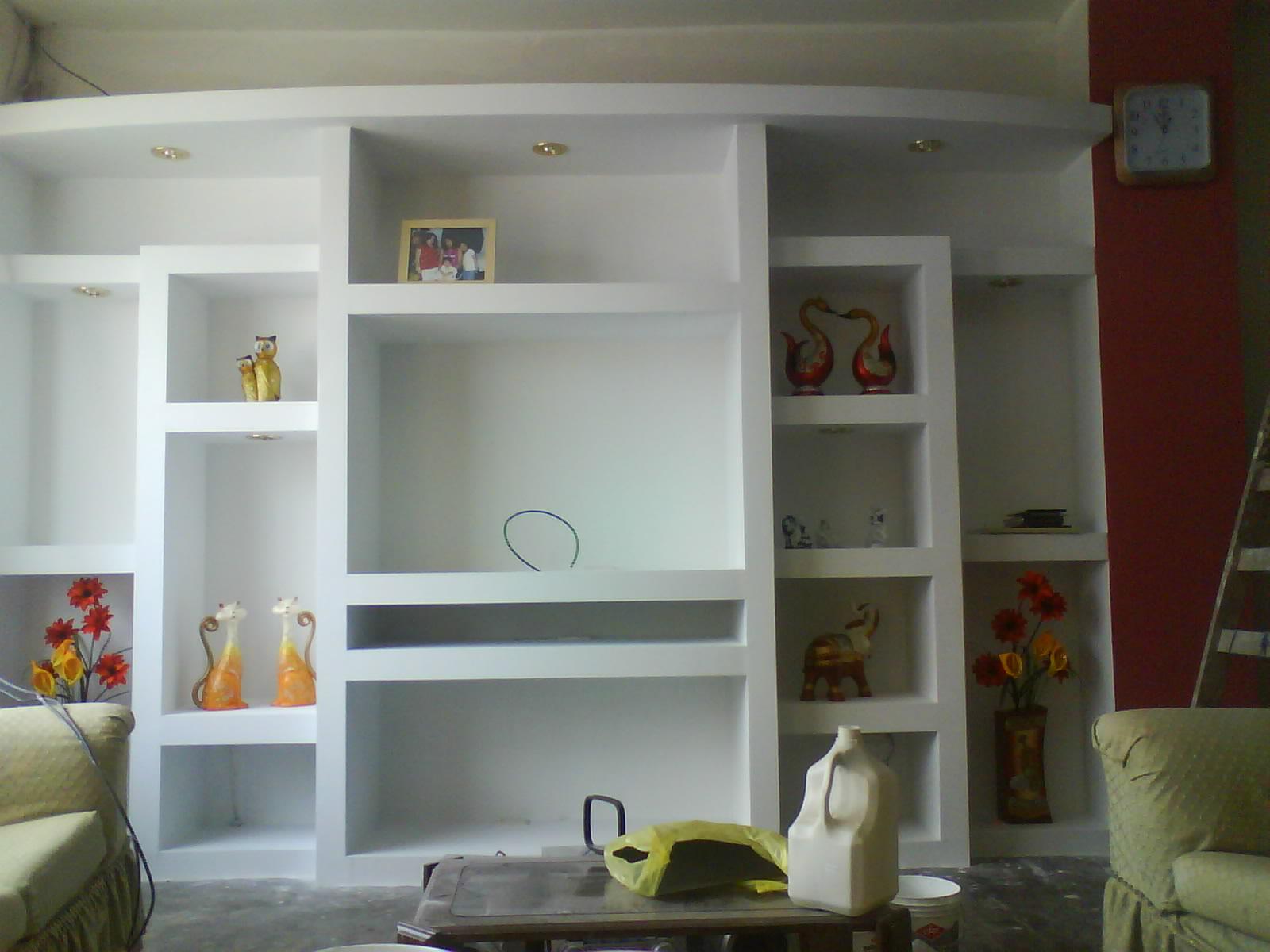 Drywall construye muebles drywall for Techos de drywall para dormitorios