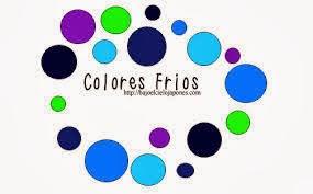 Forma y color el color colores c lidos y colores fr os - Gama colores frios ...
