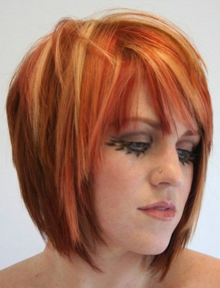 Newest Short Red Hairstyles 2015 - Daily Fashion Blog