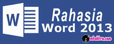 Rahasia Microsoft Word