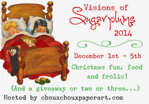 We're giving away a prize a day at the Visions of Sugarplums Blog Hop!