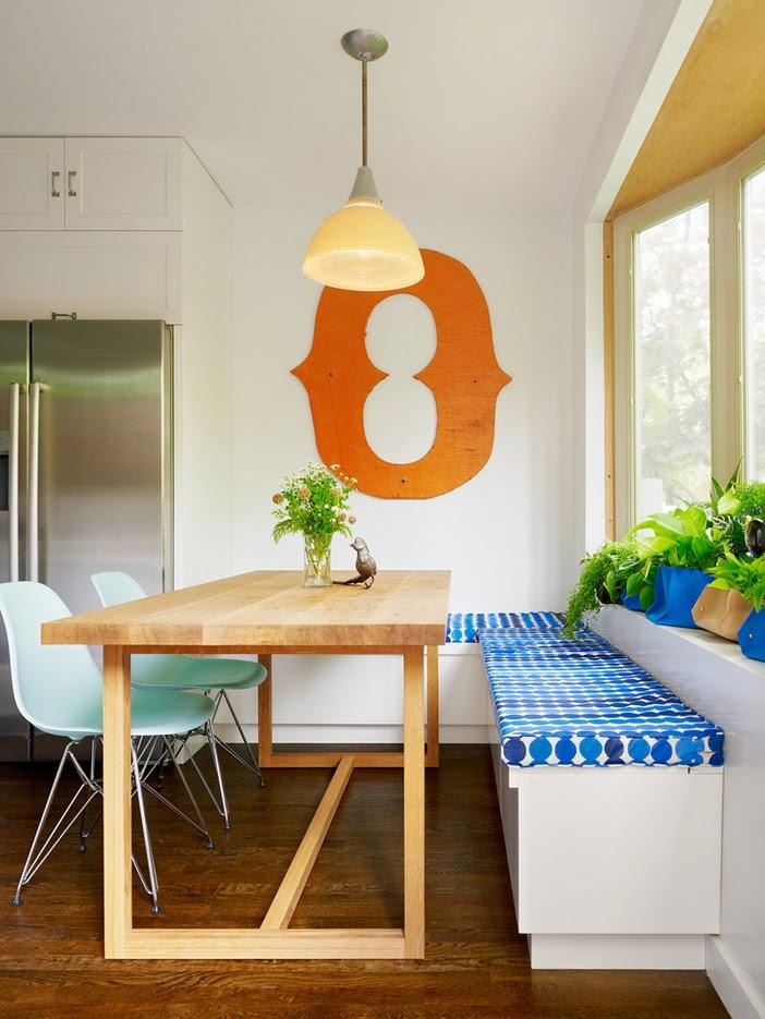 Ekaterina Brodskaya Design: Как разместить кухонный уголок в столовой
