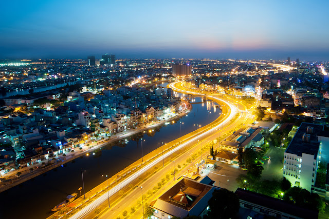 East-West Highway in Ho Chi Minh City - Vietnam