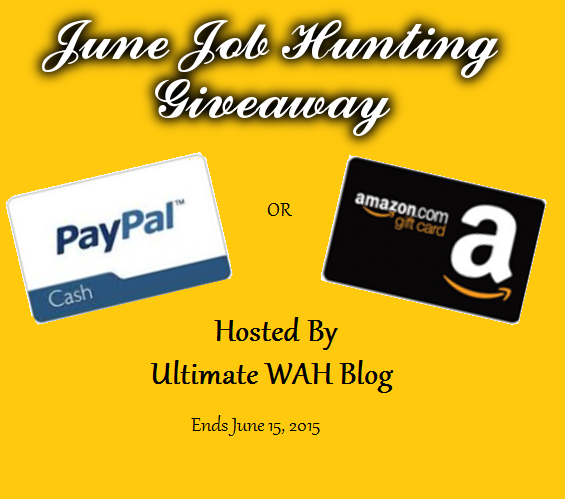 June Job Hunting $25 Amazon Gift Card or PayPal Cash Giveaway ...