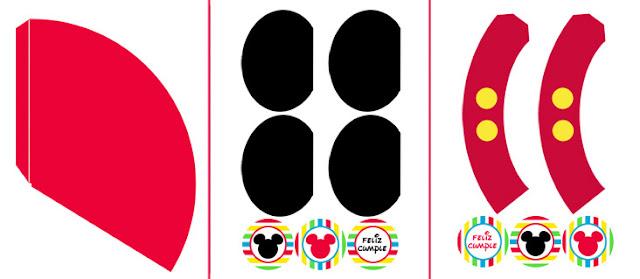 Imprimible gratuito de Mickey Mouse