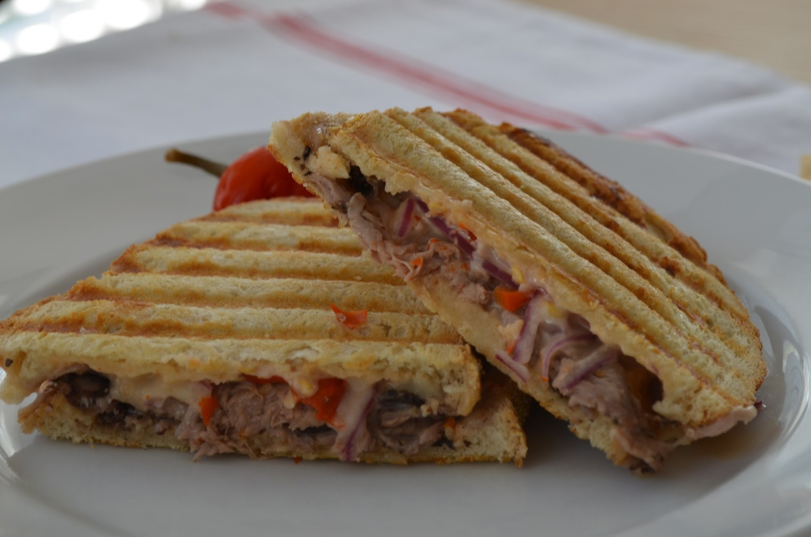 roast beef panini day 4 fusilli with bacon onion and mushrooms day 5 ...
