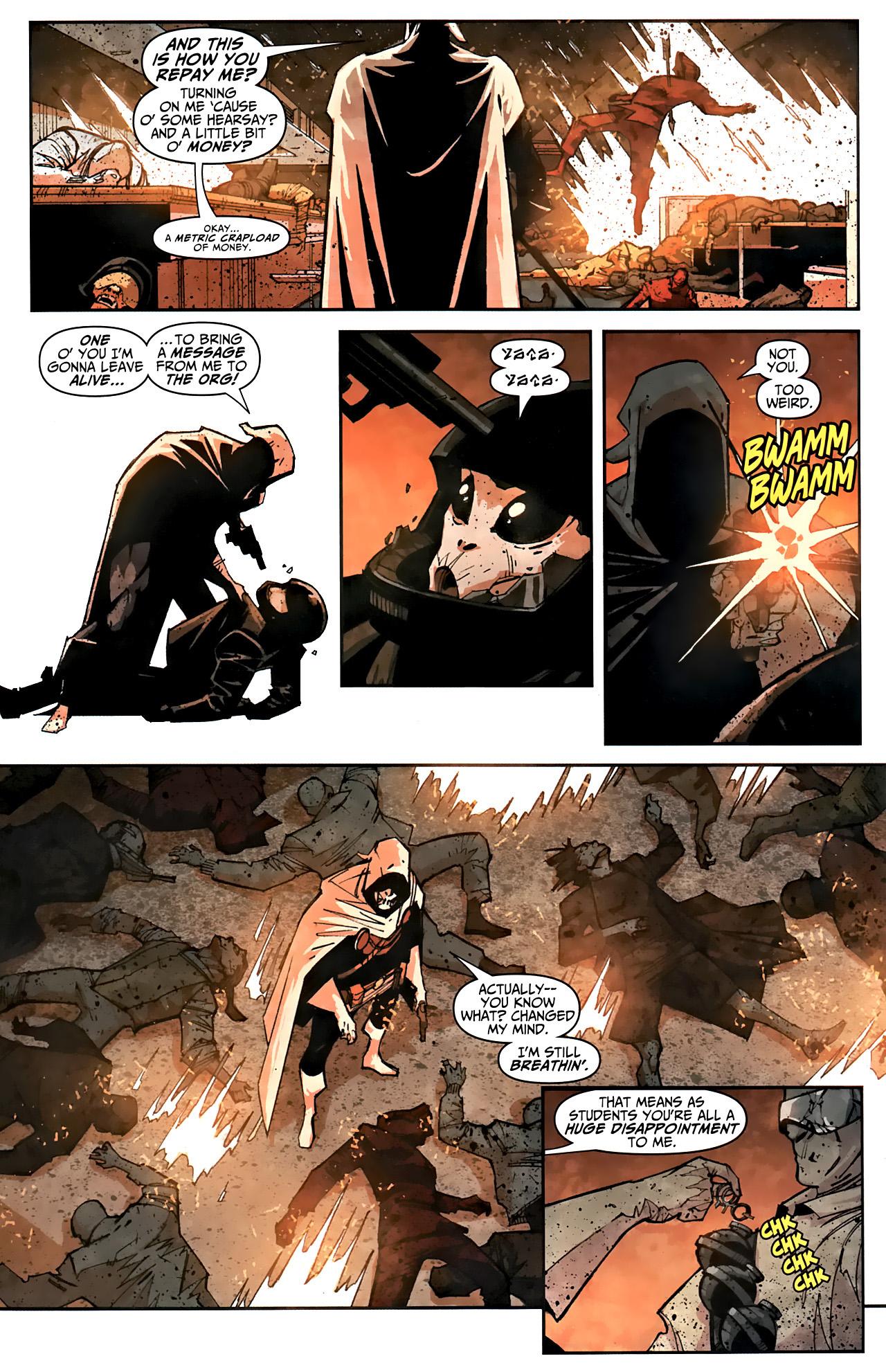 Read online Taskmaster (2010) comic -  Issue #1 - 17