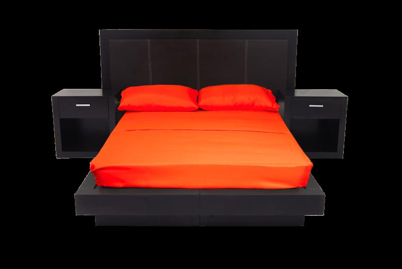 Recamaras muebles novostilo for Cuanto mide una cama queen size