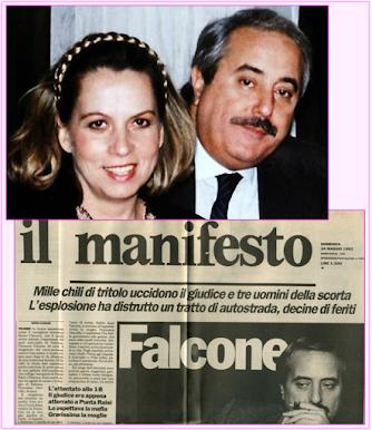 25 AÑOS: ASESINATOS DE GIOVANNI FALCONE Y PAOLO BORSELLINO.