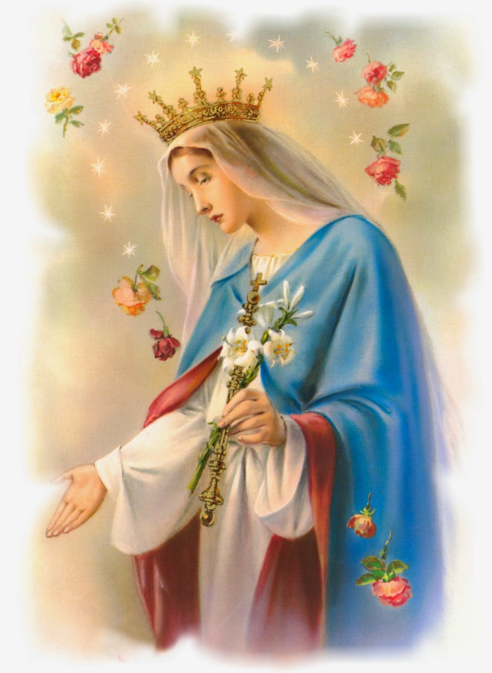 8 Pictures of our blessed virgin mary