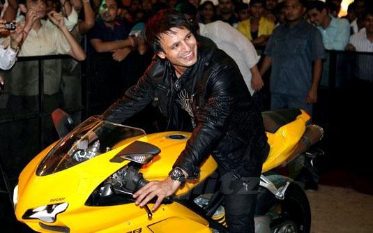 Vivek Oberoi Driving Ducati 1098 Celebrity Cars India