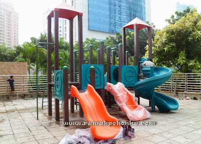 outdoor playground indonesia Apartemen Bellagio