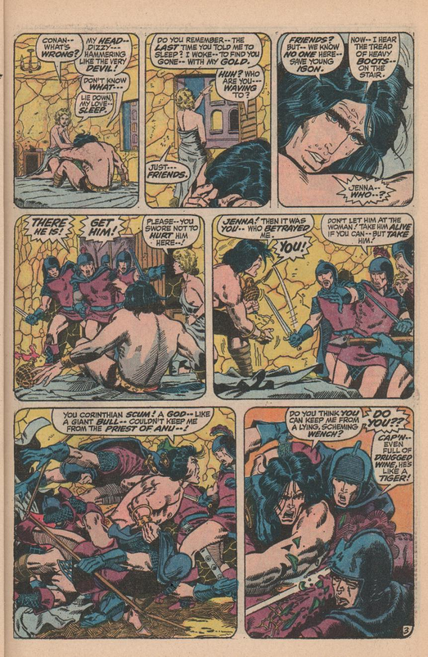 Conan the Barbarian (1970) Issue #11 #23 - English 5