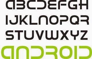 Ganti Font tulisan android keren