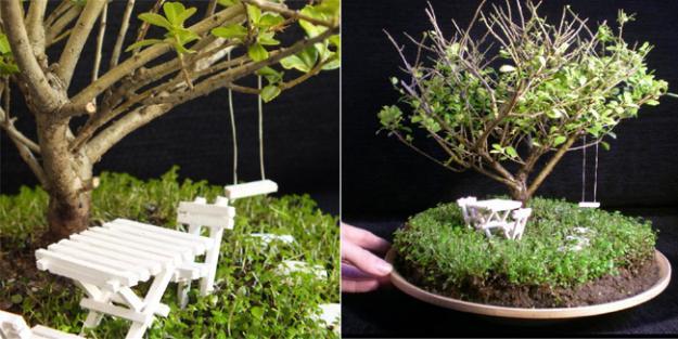 arte y botnica jardines en miniatura