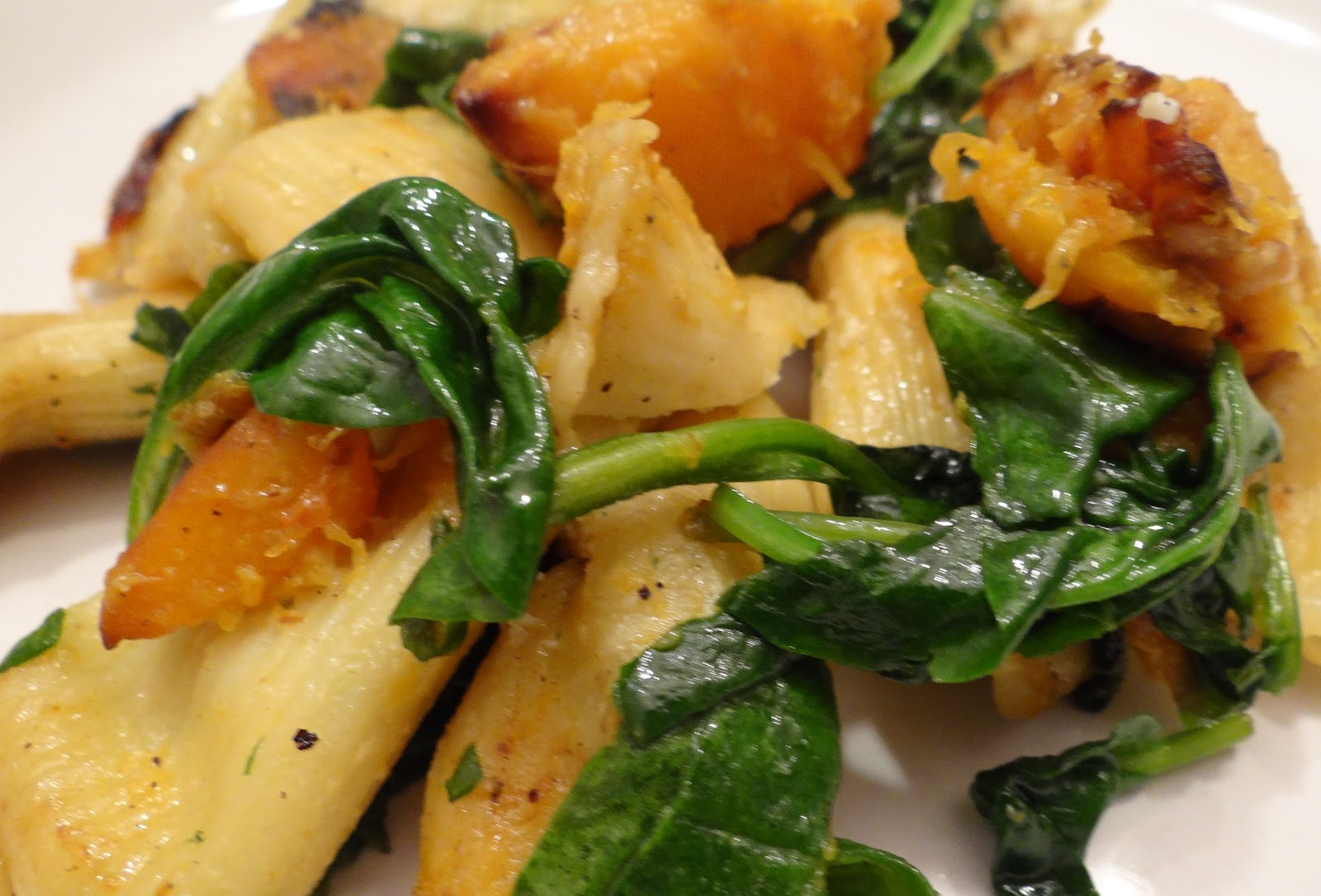 ... spinach and ricotta stuffed rigatoni or any stuffed rigatoni or