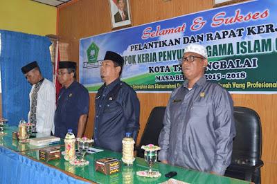 Pelantikan Pengurus Kelompok Kerja Penyuluh (POKJALUH) Kota Tanjungbalai