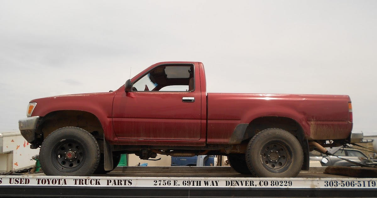 new arrivals at jim 39 s used toyota truck parts 1990 toyota pickup 4x4. Black Bedroom Furniture Sets. Home Design Ideas