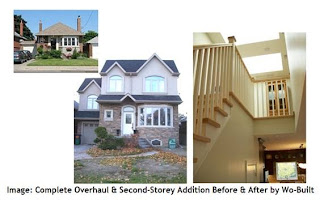 Renovation Before & After: Complete Overhaul & Second Storey Addition by Wo-Built