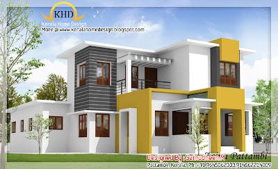 House plans designs - 3d house design - 2011