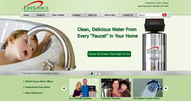 LifeSource Water - Standard Home Water Filtration Systems