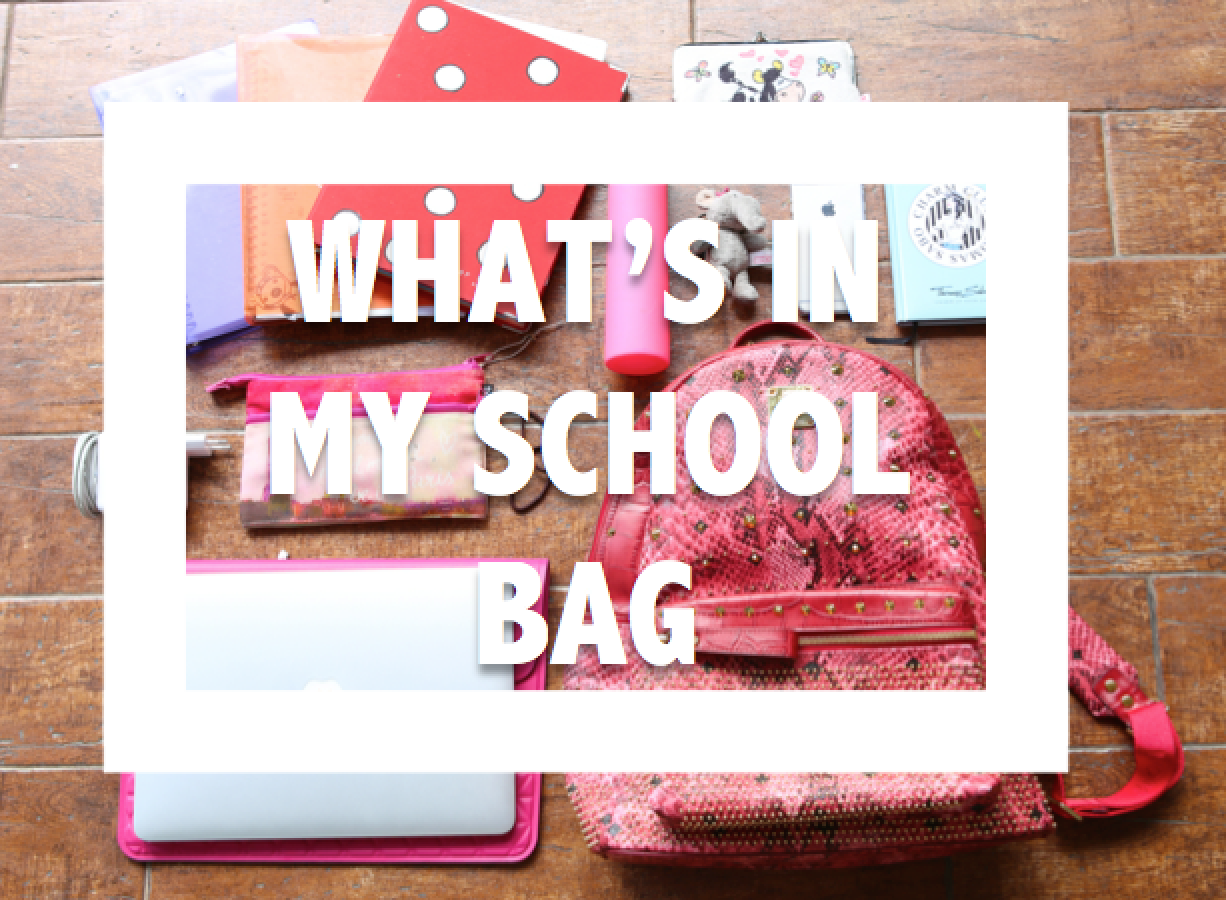 What's In My School Bag
