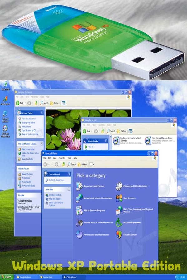 portable торрент скачать xp usb windows
