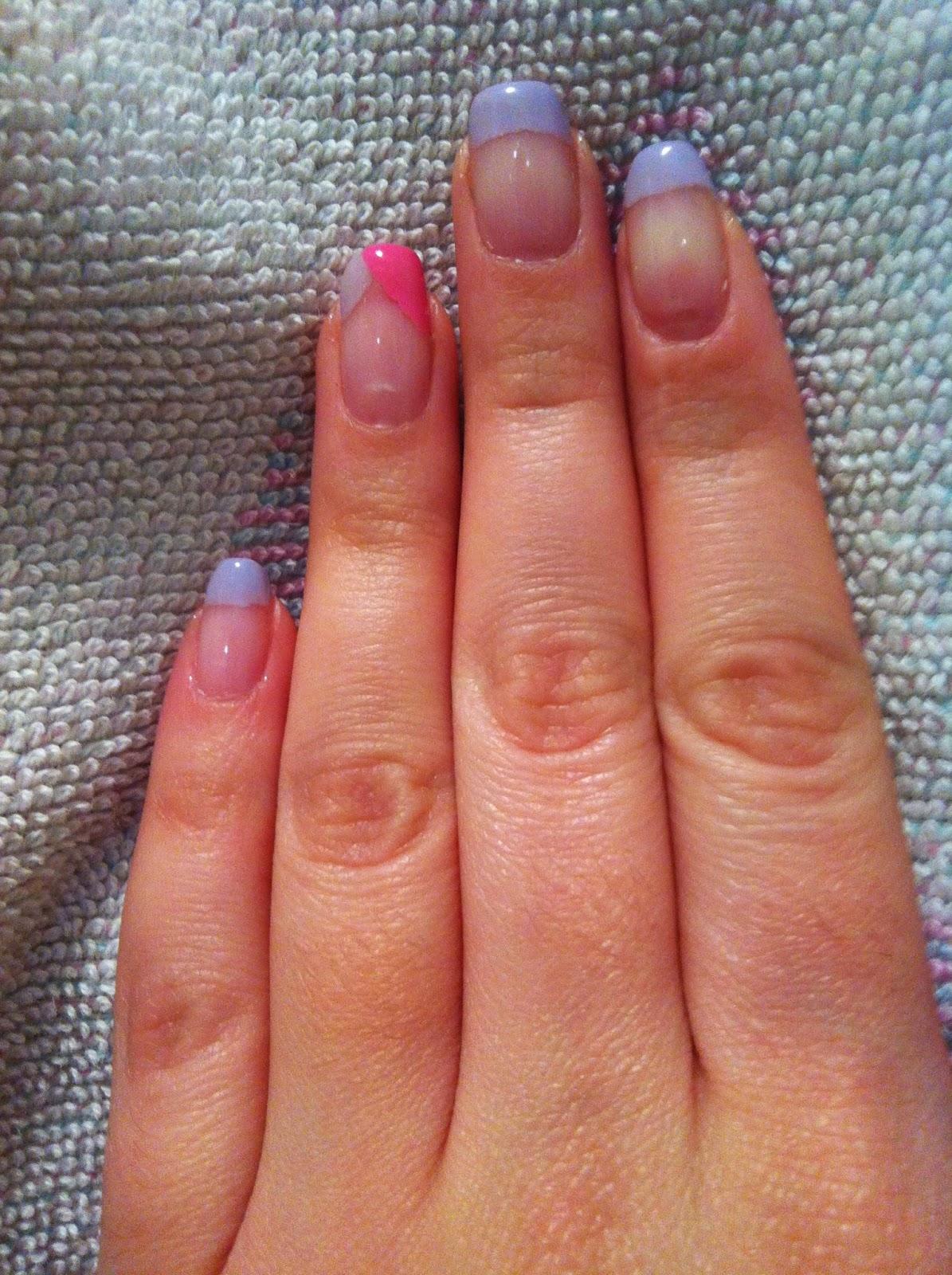 sophie et ses folies mes ongles portent du gel