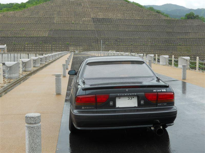 Mitsubishi Diamante I, japoński sedan, ciekawy, V6, zdjęcia