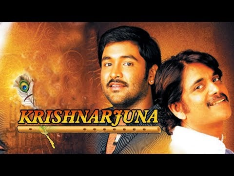 Krishnarjuna 2014 Hindi Dubbed WEBHD 350mb 480p