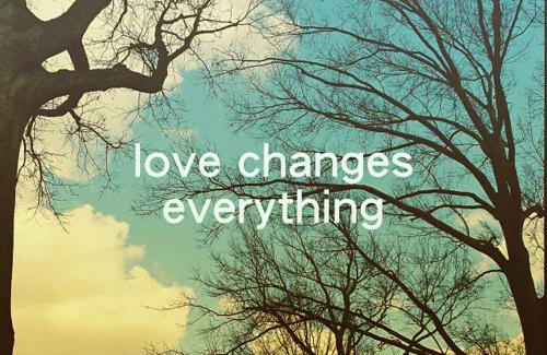 Love Change Quotes