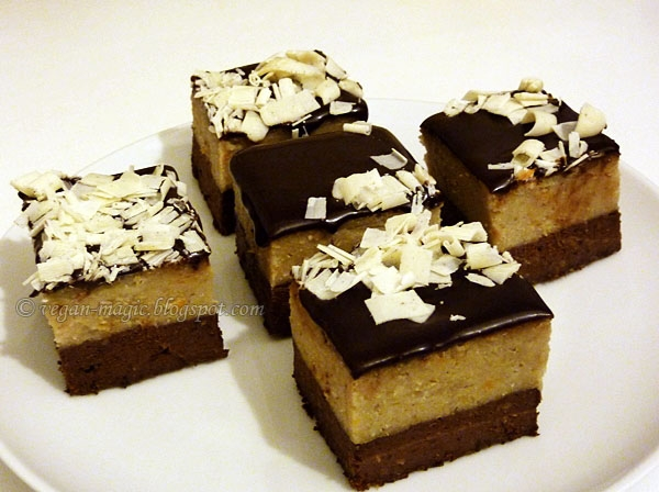 Black and White Bean Fudge
