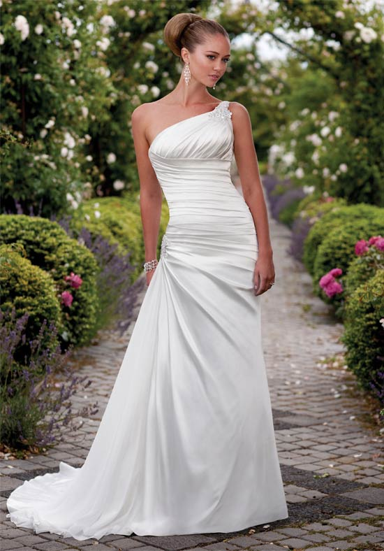 One Shoulder Wedding Dresses 2011 Latest Fashion Club