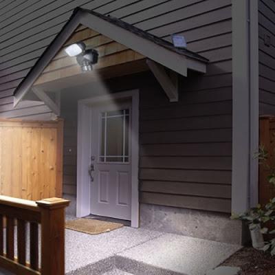 Centurion Solar Security Light Home