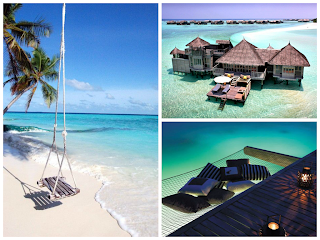 maldives collage honeymoon destination traveling