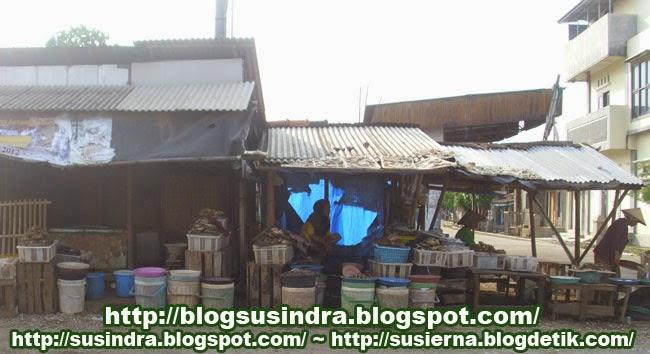 pasar kerang dan kepiting di Jepara