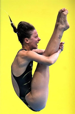 Olympic diver Sharleen Stratton of Australia