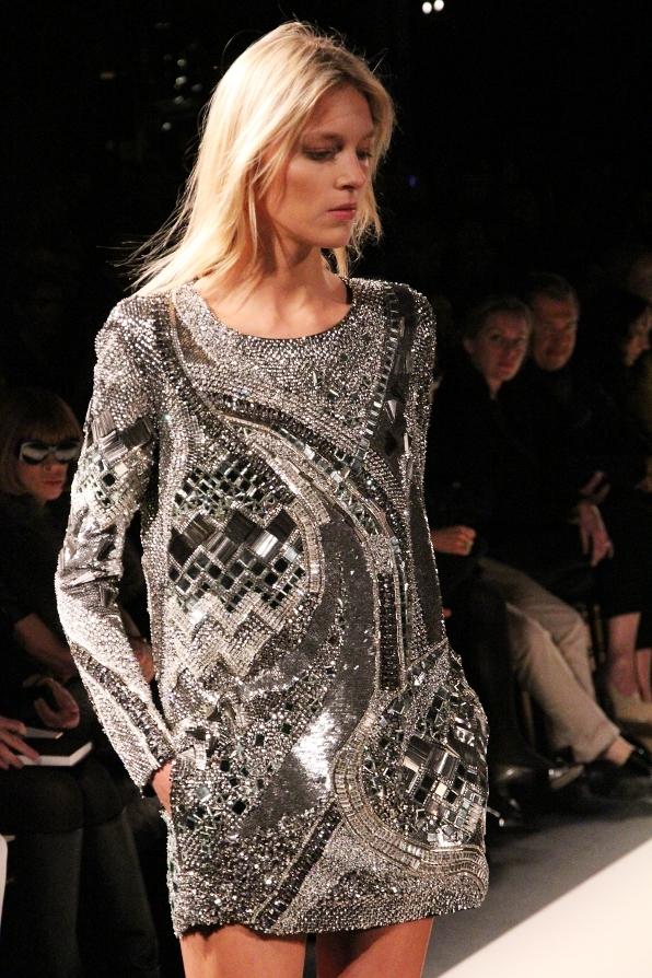For Fashion Freaks: BALMAIN METAL MINI DRESS!