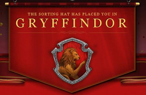 how to change your house on pottermore