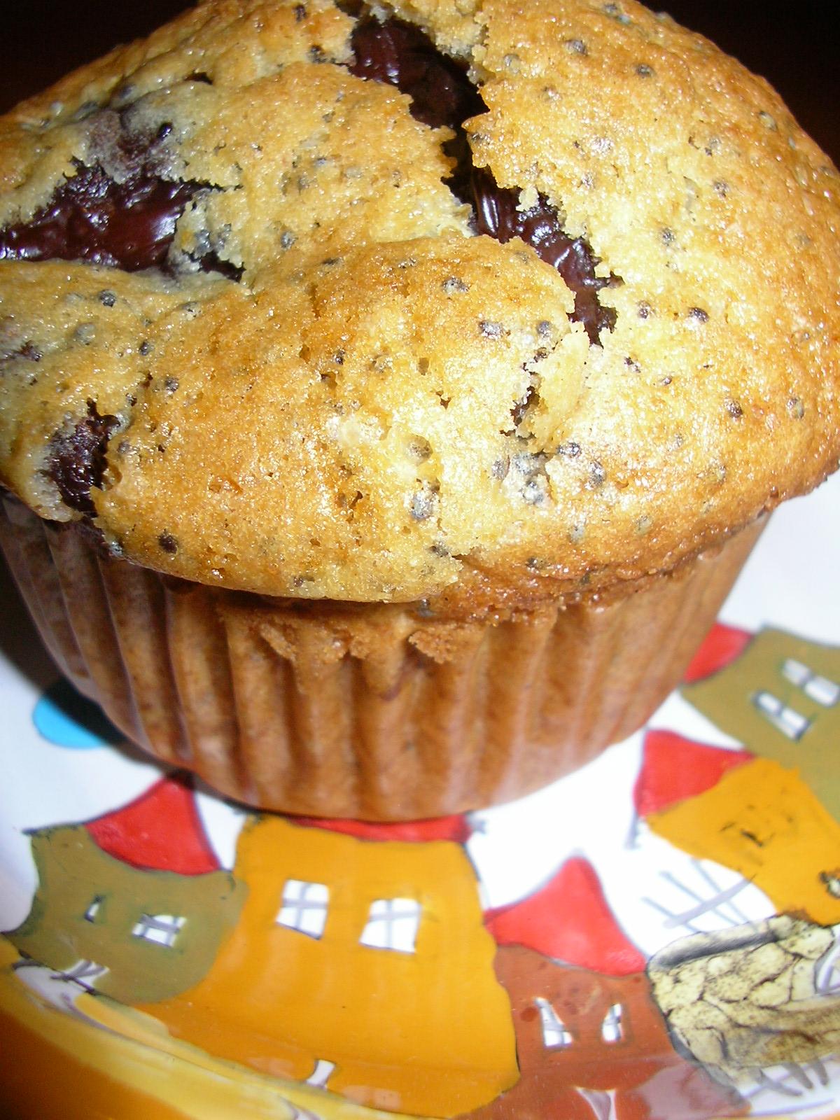 Kuchnia Szeroko Otwarta Muffiny Z Makiem I Czekoladowym Budyniem