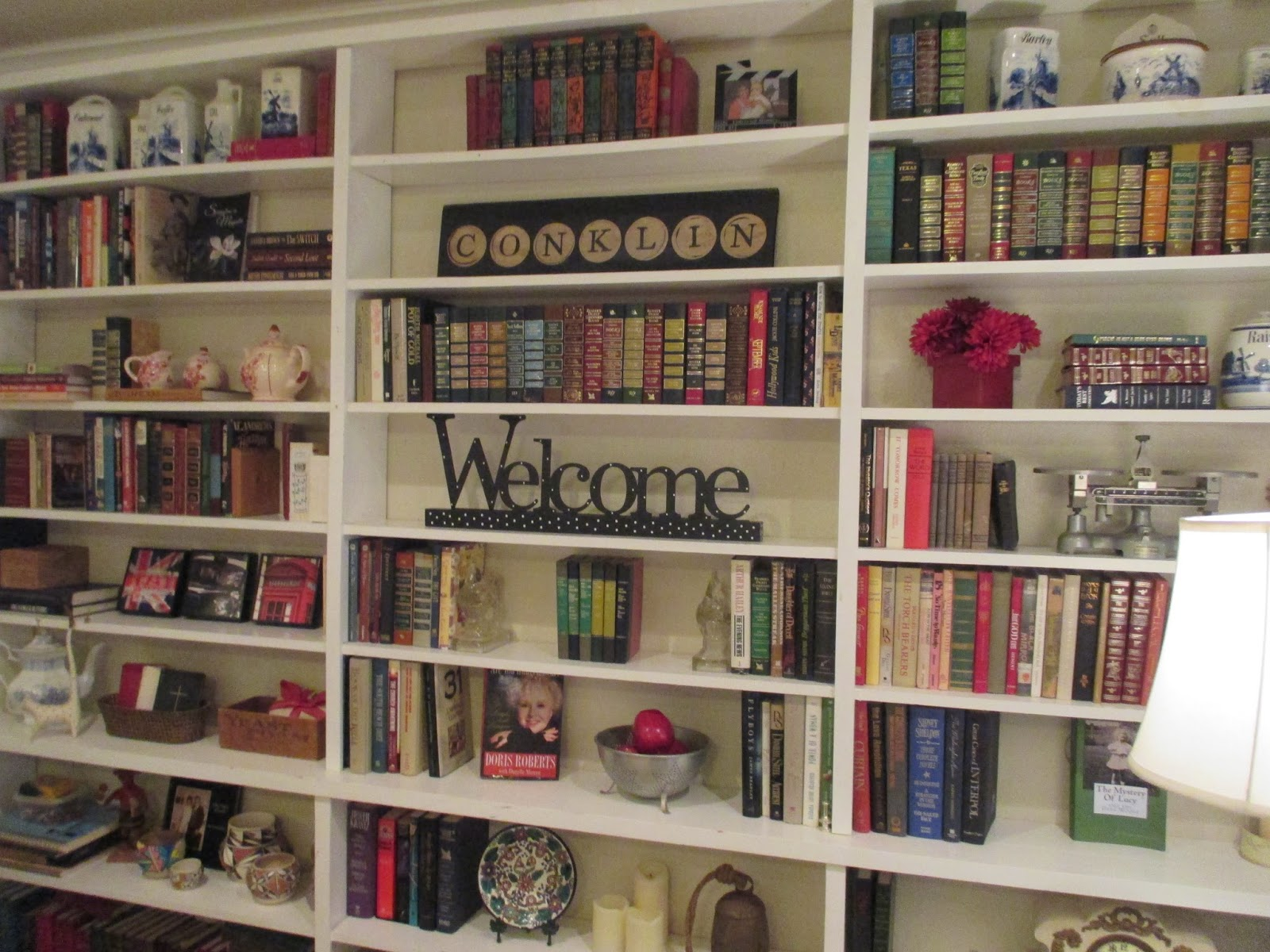 Wall Of Bookshelves sweet nothings: sunday fluffing