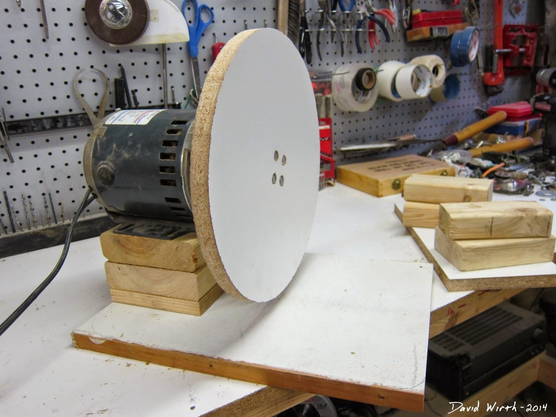 basic sanding station