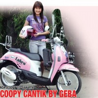 Honda Scoopy '10 : Scoopy Cantik By Geba