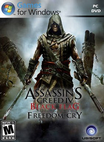 Assassins Creed IV Black Flag Freedom Cry-RELOADED TERBARU FOR PC cover 1