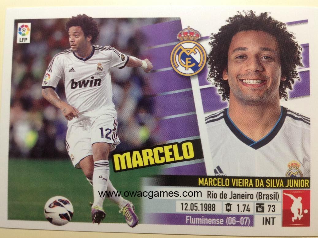 Liga ESTE 2013-14 Real Madid - 7 - Marcelo